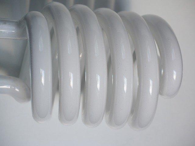 spirála zářivky
