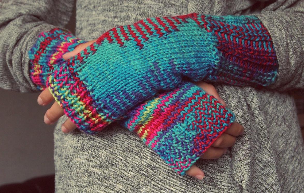 příjemné rukavice